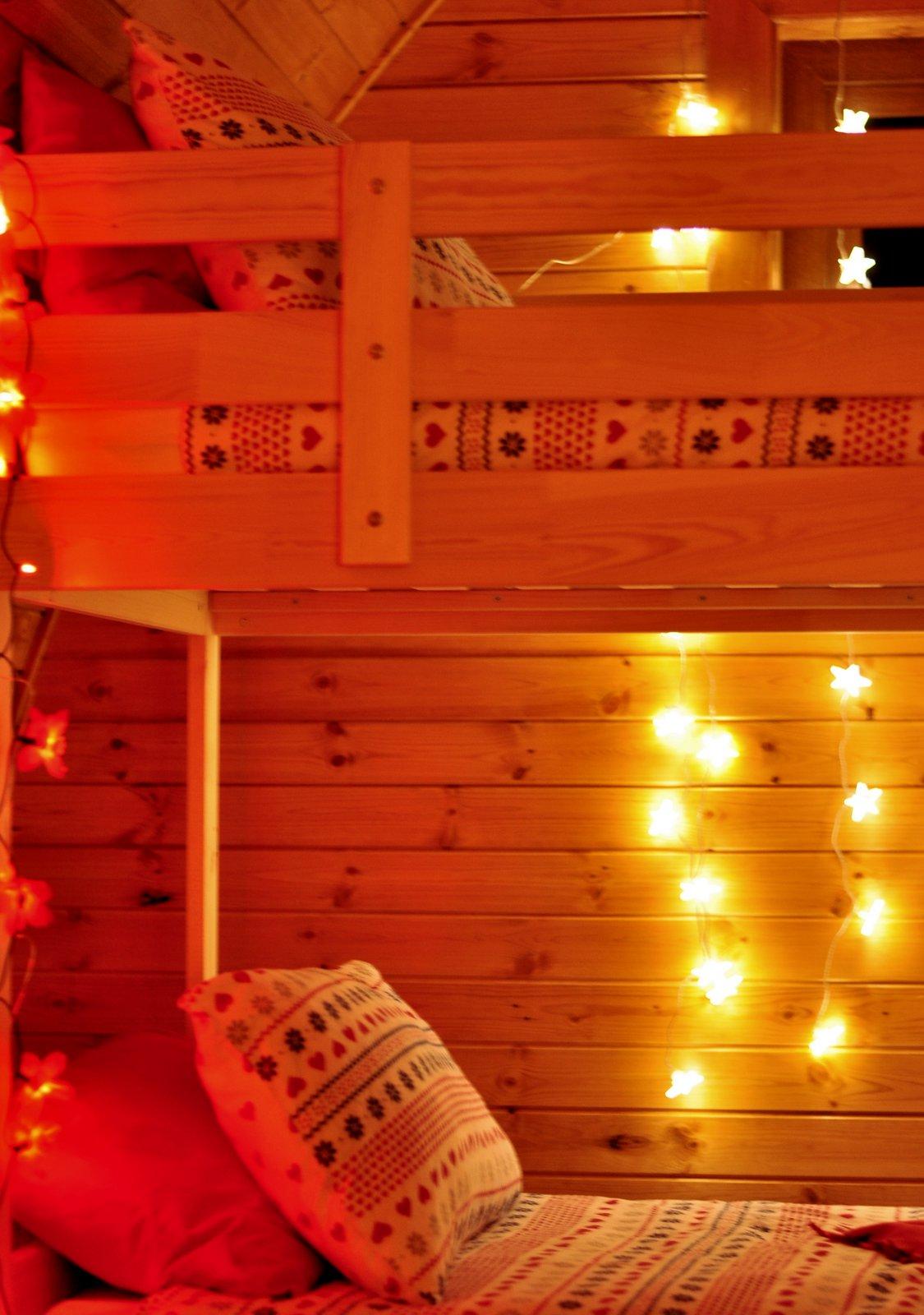 Bunk Bed Fairy Lights Wild Atlantic Camp