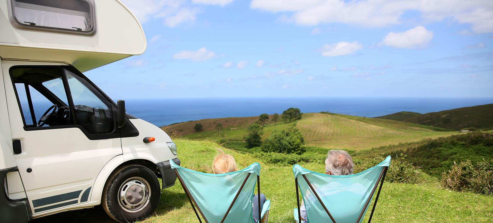 Wild Atlantic Camp, camping folding chairs, sea landscape